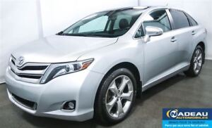 2014 Toyota Venza LIMITED V6 AWD TOIT PANORAMIQUE  MAGS 20