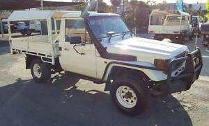 1995 TOYOTA LANDCRUISER HZJ75R 4X4 4.2L 1HZ DIESEL MANUAL TRAY Burleigh Heads Gold Coast South Preview