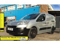 Peugeot Partner 1.6 LWB SE L2H1 750 (Start/Stop) 92 , 1 Owner, Full S History , 1YR MOT, Mileage 87K