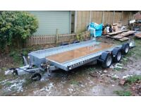 car transporter trailer 14ft twin axle, excellent condition