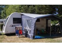 CARAVAN AWNING Inaca Mercury 420. IMMACULATE. 1 yr old. Used TWICE! Huge saving MUST GO. May deliver