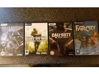 Four PC games
