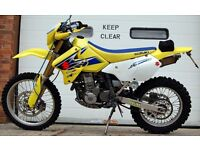 2006 SUZUKI DRZ 400 SM AND OFF ROAD WHEEL K6 YELLOW GREEN LANE ROAD BIKE