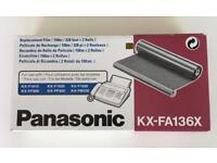 Panasonic KX-FA136X - replacement films for fax machine