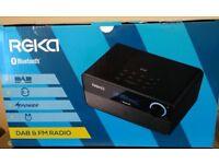 REKA DAB, Bluetooth, FM 2.1 Channel Radio