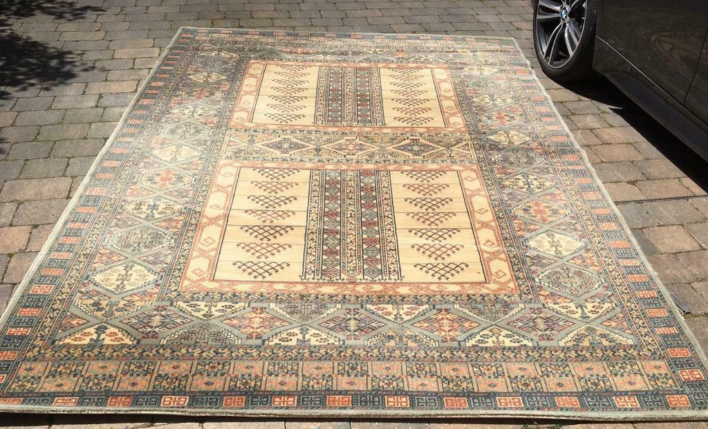 Pure Wool Hand Made Rug By Royal Keshan In Wirral Merseyside Gumtree