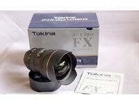 Tokina 16-28mm f2.8 UWA lens Canon