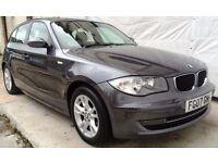 2007 BMW 1 Series 1.6 116i SE 5dr Petrol/ONLY 69000 MILES /MOT13/07/17 /FULL HISTORY/BARGAIN BARGAIN
