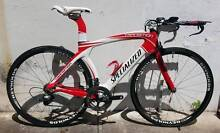 Specialized Transition Pro. M. Sram Red/Force 10s. Reynolds Carbo Dulwich Hill Marrickville Area Preview