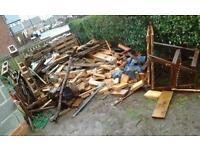 Free Wood, ideal for log burner