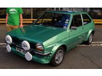 Ford Fiesta Mk1 1980 Ghia Immaculate Not XR2 Supersport Mk2 Escort RS