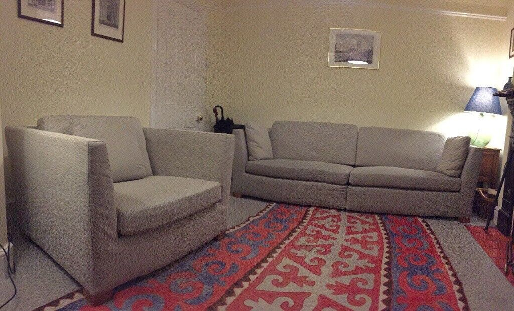 IKEA Stockholm Sofa and Armchair for Sale | in Banbury ...