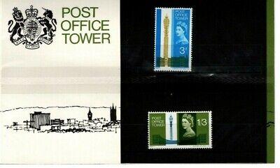 GB 1965 PO Tower presentation pack  (See description)
