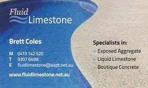 Fluidlimestone, Liquid Limestone and Exposed Aggregate Concrete Heathridge Joondalup Area Preview