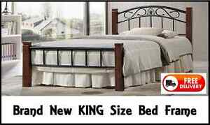 KING Size COLORADO Bed Frame - BRAND NEW and with FREE DELIVERY New Farm Brisbane North East Preview