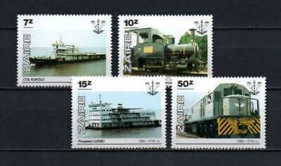 Belgisch Congo Belge - Rep. Zaïre n° 1302/1305 MNH ONATRA Transport  c3.00Eu