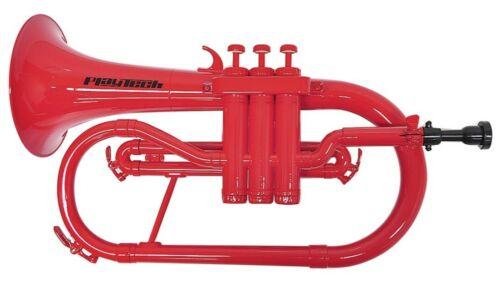 Lightweight Plastic Flugelhorn PLAYTECH PTFH100RD Red Expedited shipping #362