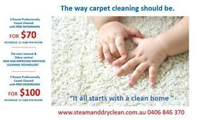 Steam and dry clean Carpet Cleaning Melboourne North Melbourne Melbourne City Preview