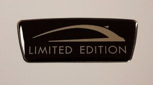 LIMITED EDITION Black Wing Sticker/Decal HIGH GLOSS DOMED GEL FINISH - Corsa