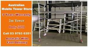 2.0m Aluminium Scaffold Alloy mobile tower double width Dandenong South Greater Dandenong Preview