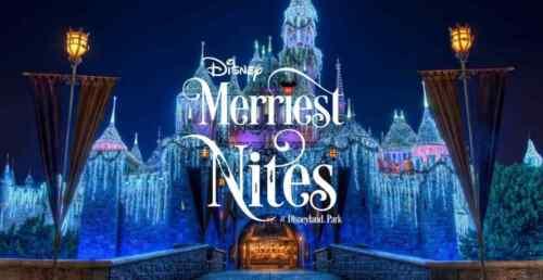 Disneyland Merriest Nites at Disneyland Park 6 Tickets December 9th