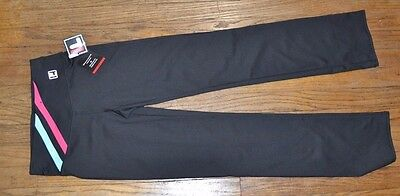 Fila Sport Straight Leg Workout Pant Athletic Gear Yoga Running Gym Crossfit XS
