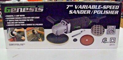 """Genesis GSP1711 7"""" Variable Speed Sander/Polisher"""