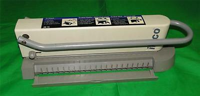 Ibico Eb-19 Home Or Office Binding System Plastic And Wire Binding