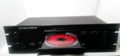TASCAM CD-301 MK II (MK2) CD Player Working Great