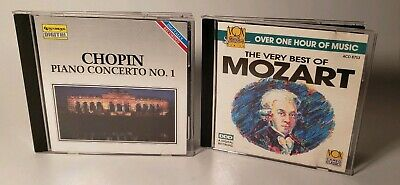 Chopin : Piano Concerto No. 1 & The Very Best Of Mozart, Used Good CD (The Best Of Chopin Piano)