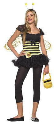 CUTE SUNFLOWER BUMBLE BEE 10-12 TEEN GIRLS COSTUME LEG AVENUE DRESS WINGS