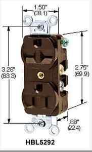 15A 125V/15A 250V outlet plug