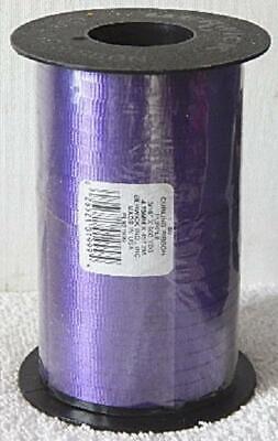 Purple Curling Ribbon (Berwick Crimped Curling Ribbon 3/16