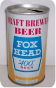 Fox Head Beer Can