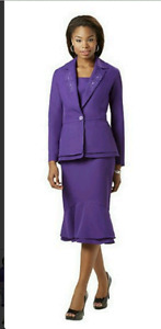 Plus size 2 piece suit set