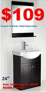 Bathroom Vanities from $109/Faucets from $59! SALE ON NOW!