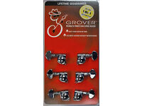 PRICE DROP~GROVER 305 3+3 GUITAR TUNERS~NEW.