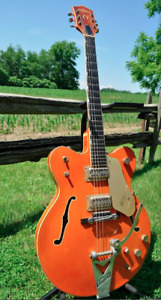 Rare 1962 Gretsch 6120 Chet Atkins Orange Double Cutaway