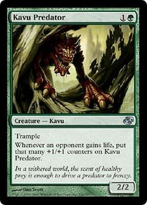 MTG MAGIC THE GATHERING - KAVU PREDATOR X 2 - PLANAR CHOAS NEAR MINT/EX!