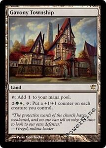 4 Gavony Township - Innistrad MtG Magic Land Rare 4x x4