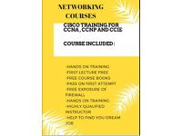 CISCO CCNA,CCNP & CCIE QUALIFICATION ,FREE FIREWALL TRAINING ,2 MIN WALK FROM ILFORD STATION