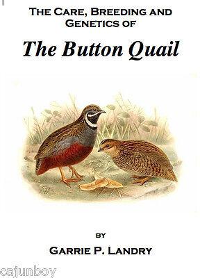 Button Quail Book Care Breeding Genetics Of The Button Quail A Complete Guide