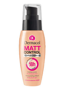DERMACOL MATT CONTROL MAKE-UP Long-lasting mattifying waterproof foundation 30ml - Klucze, Polska - DERMACOL MATT CONTROL MAKE-UP Long-lasting mattifying waterproof foundation 30ml - Klucze, Polska