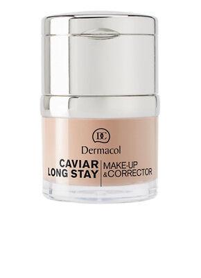 Make-up Corrector (DERMACOL CAVIAR LONG-STAY MAKE-UP & CORRECTOR 30ml)