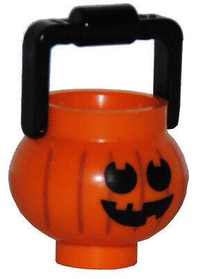 LEGO® Halloween Kürbis Behälter Eimer Zubehör für Figur pumpkin container NEU