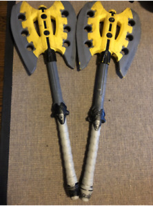 2009 Nerf N-Force Warlock Foam Axe Sword/Weapon