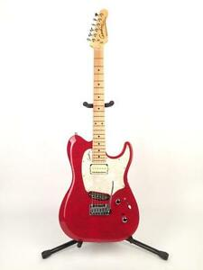 Godin Passion Custom with Trans Red Flamed Maple Top