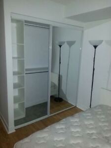 FURNISHED ROOM AVAIL FOR YOUNG PROFESSIONAL FEMALE - 6mon Lease+