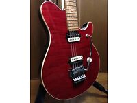 EVH ernie ball Musicman red guitar