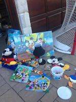 Collection Mickey Mouse frame, light, playhouse, doll, sheets